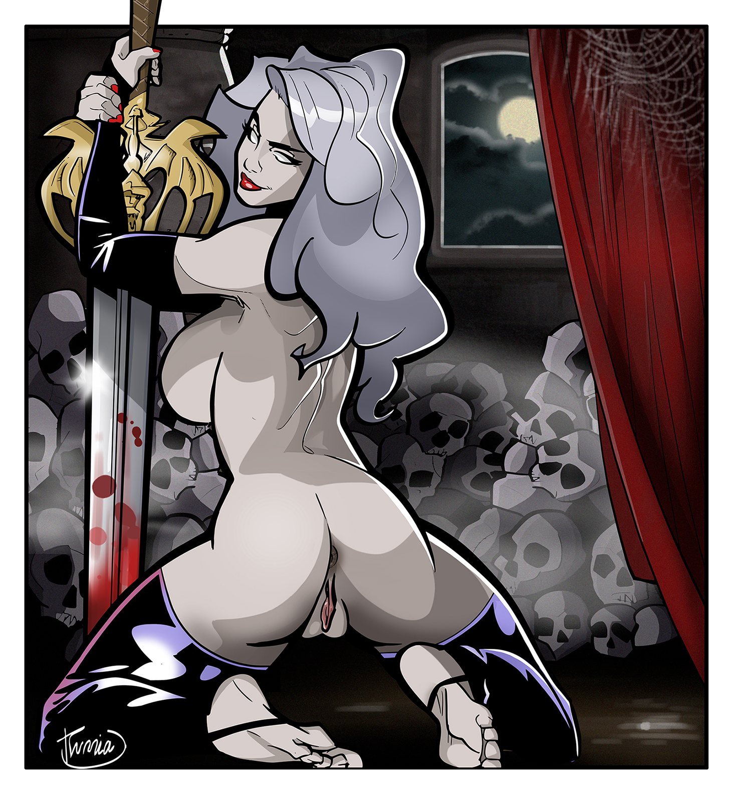 Sexy lady death xxx adult pic