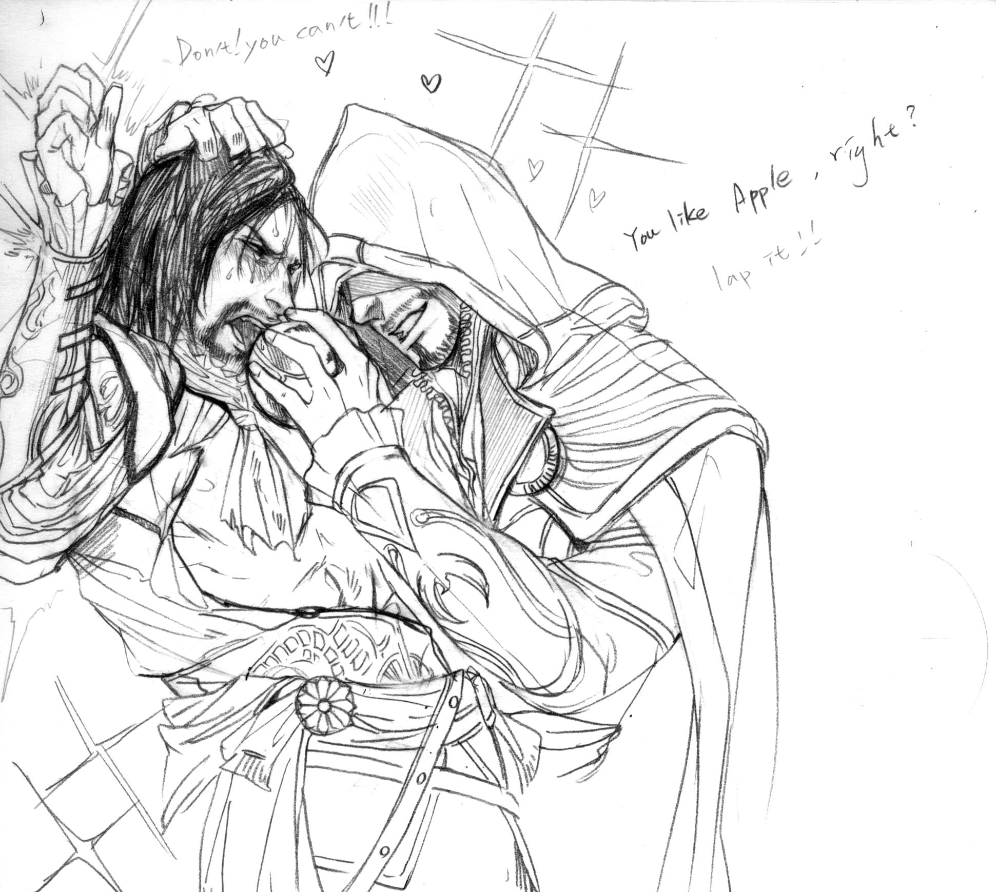 Assassin's creed gay porn hentia scenes