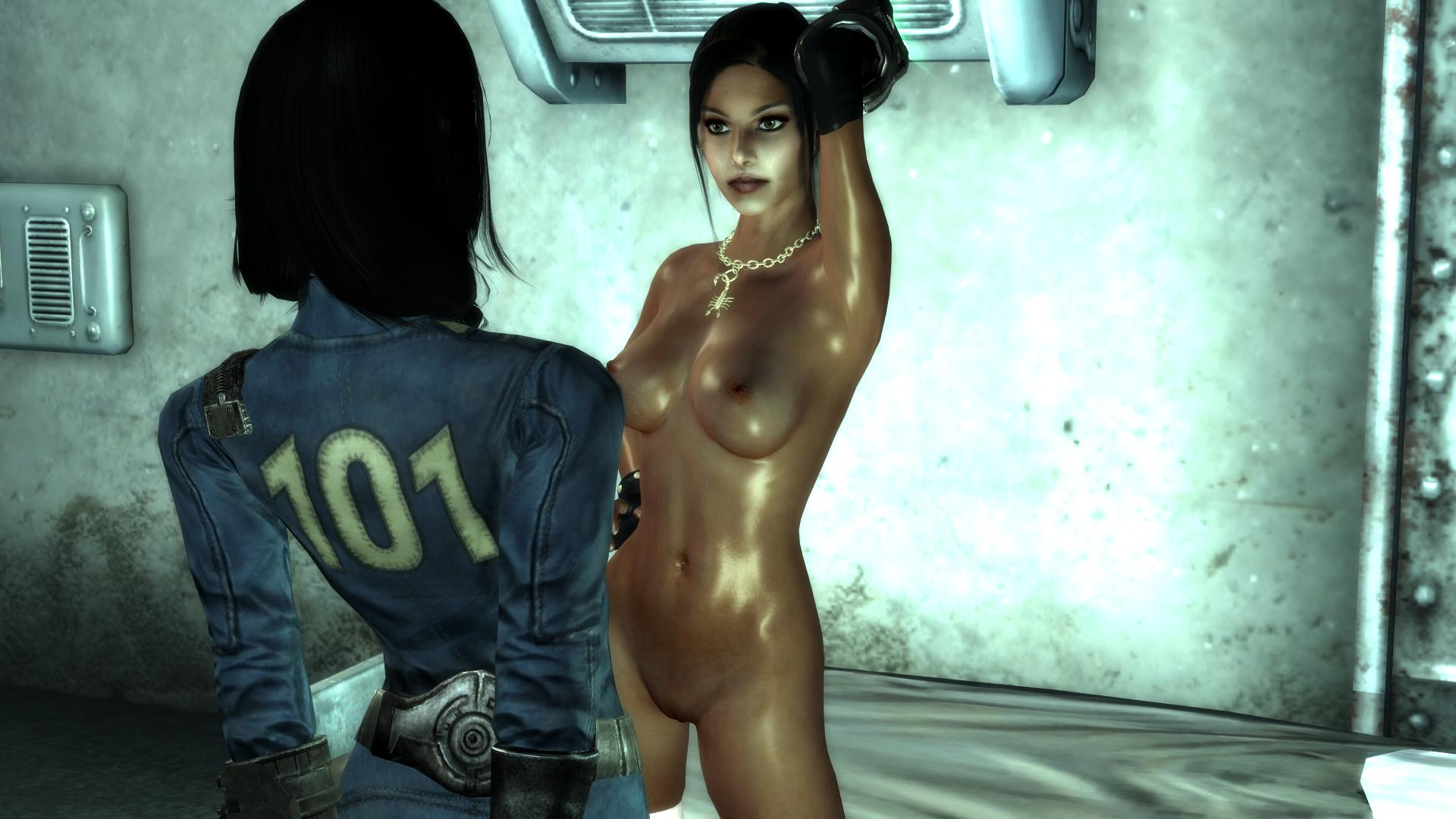 Naked in fallout nude super pornstar