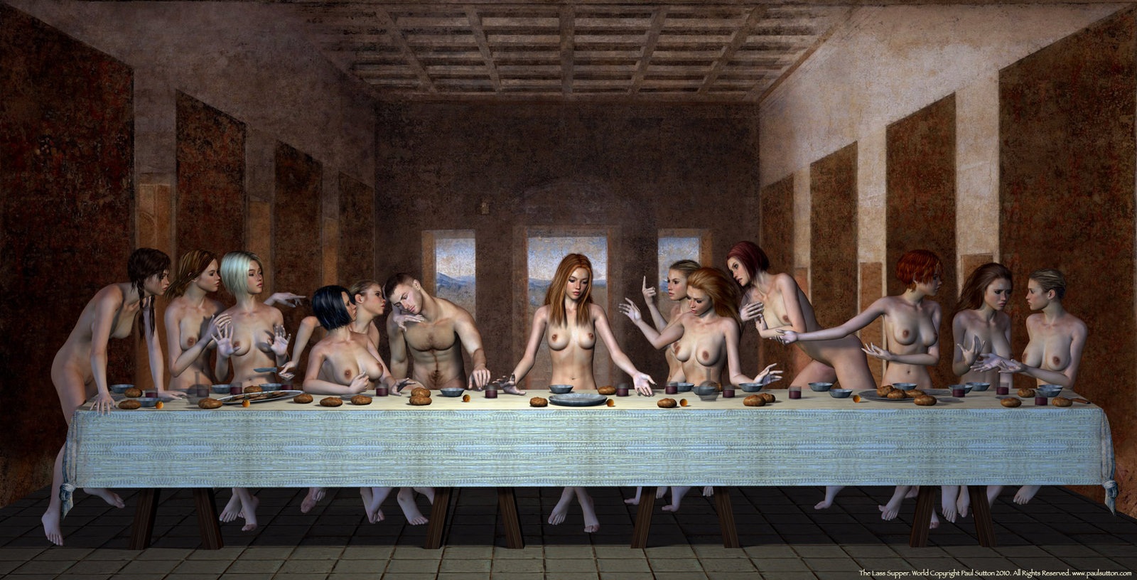 Da vinci's female representation