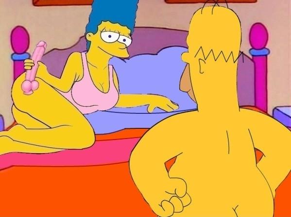 Симсоны порно гомера и мардж