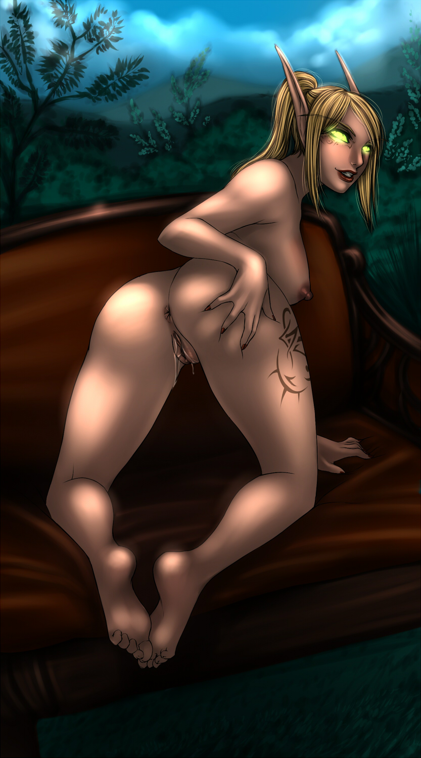 Blood elf nude dancing fucks pic