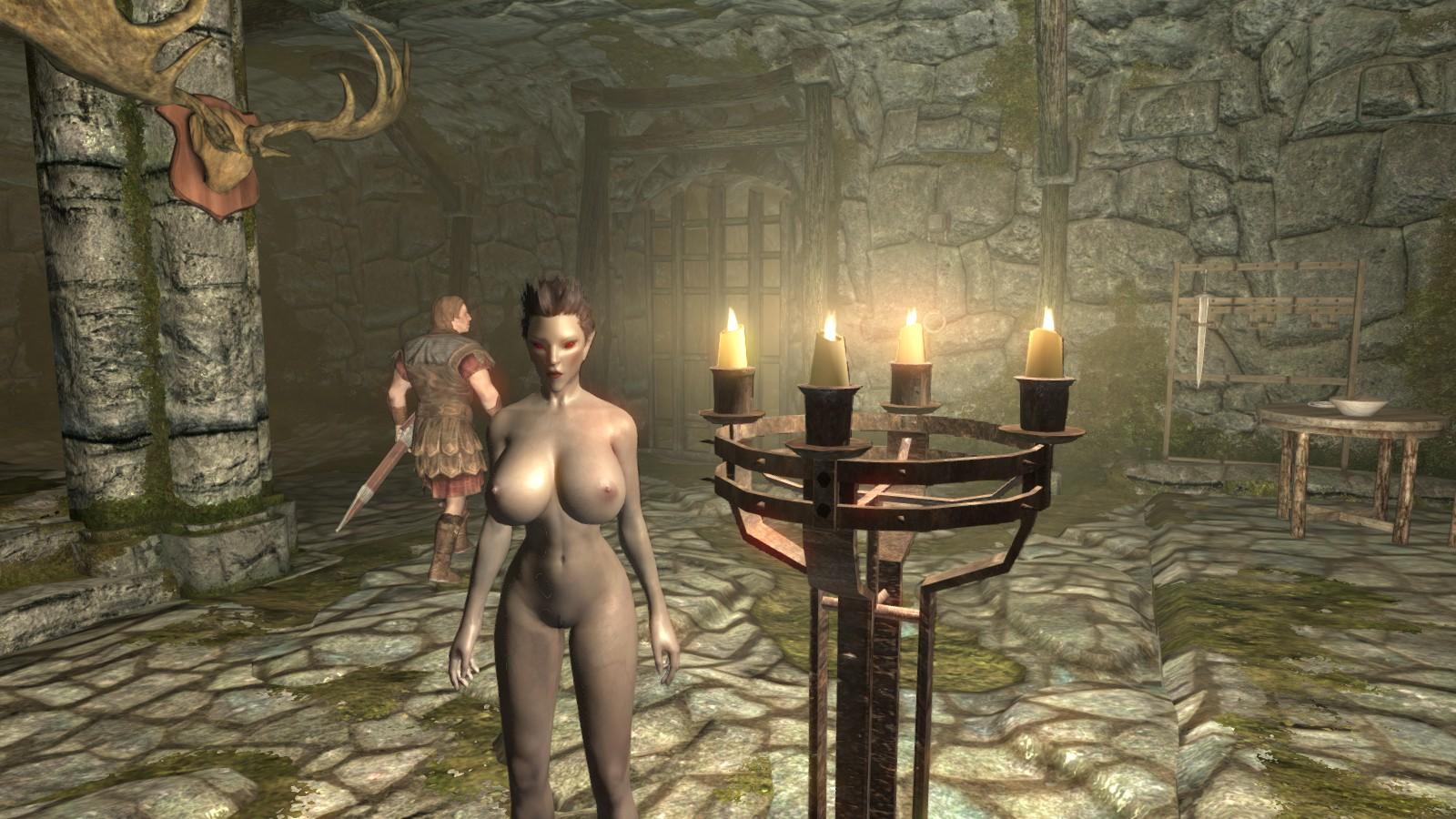 Sexy skyrim dark elf exposed pictures