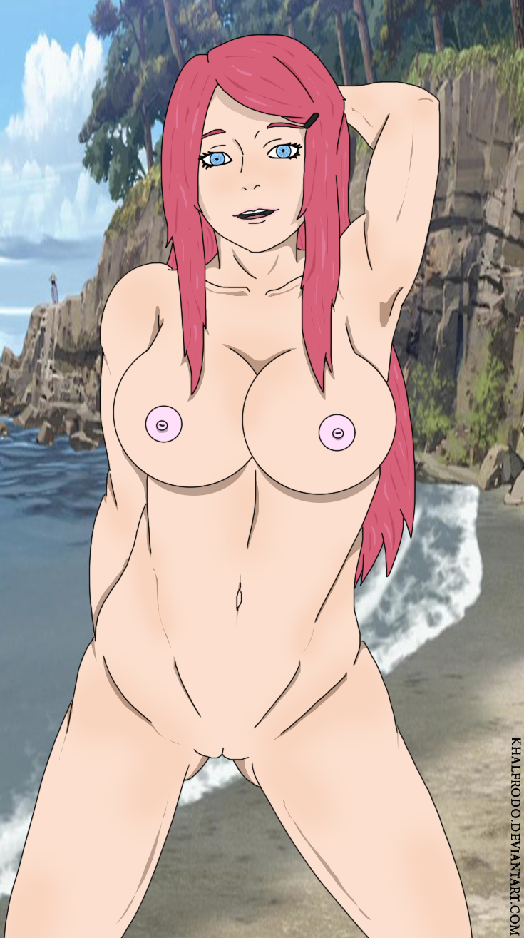 Female characters of naruto naked — pic 14