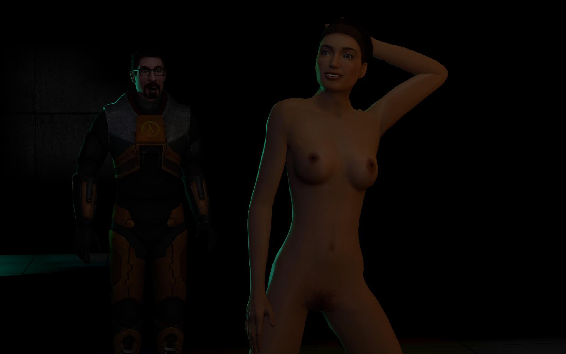 Alyx vance naked animated naked comic