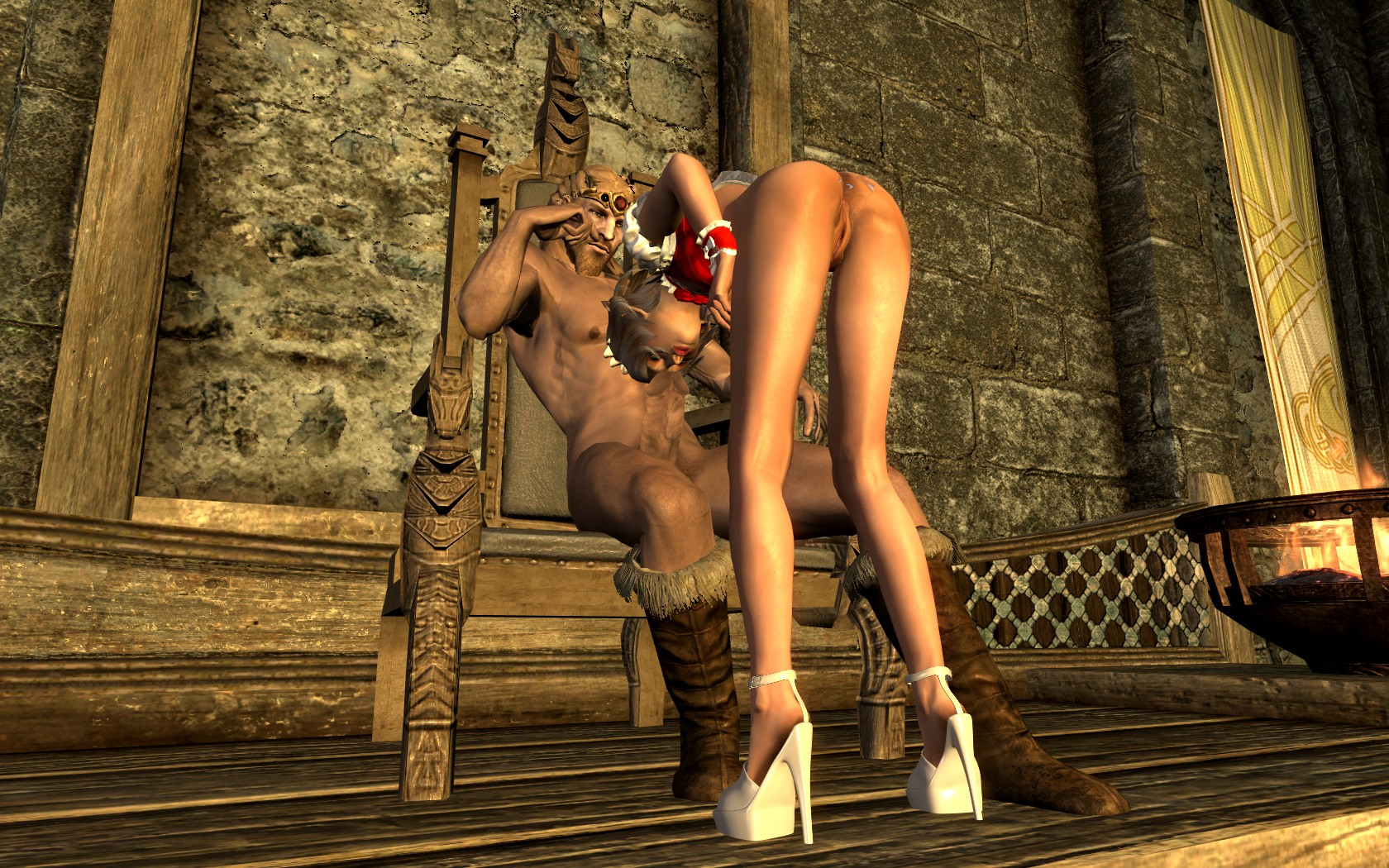Skyrim секс сборка