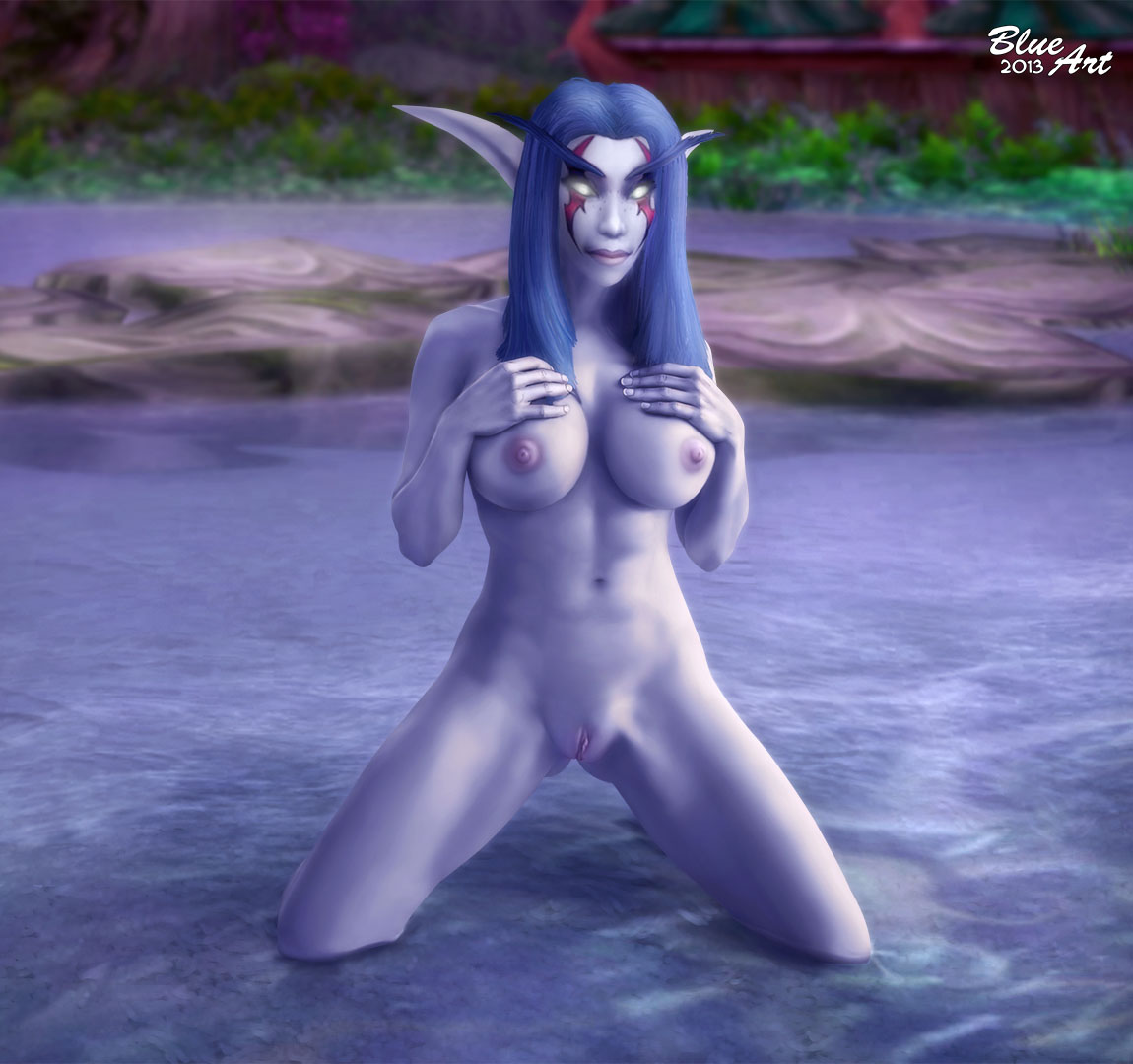 World of warcraft night elf female nude authoritative