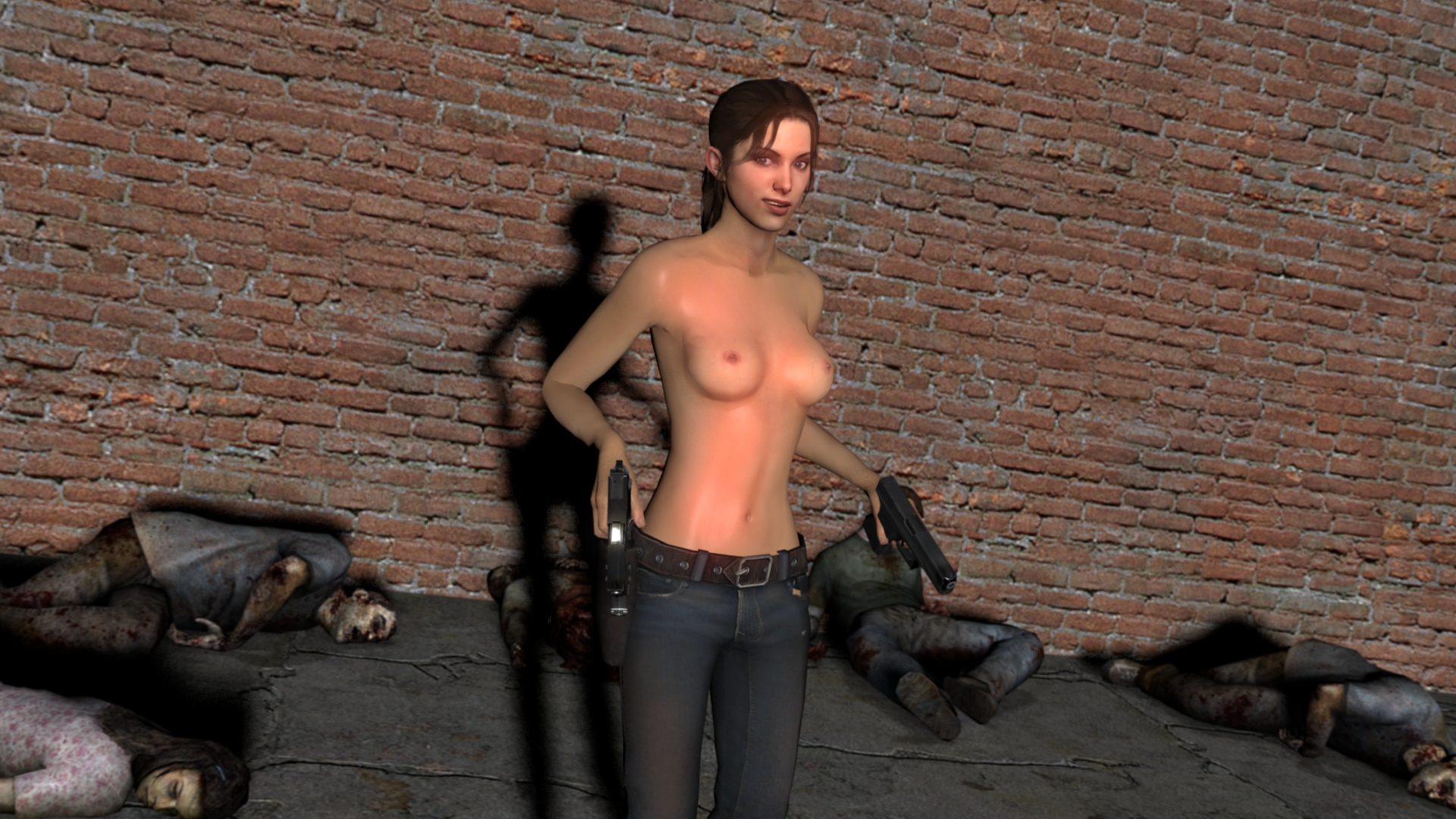 Gmod naked girl zombie exploited gallery