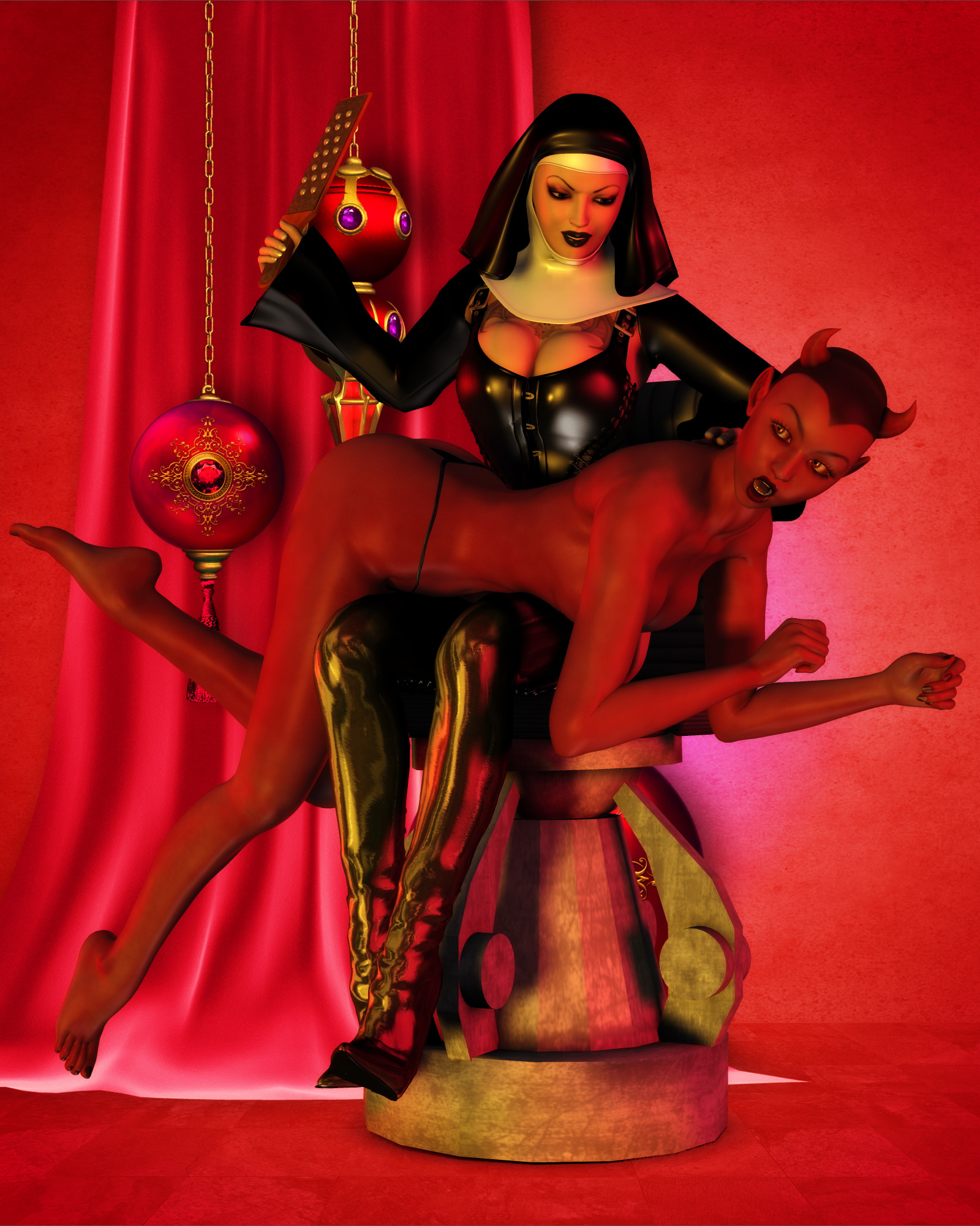 Demon sexing nun exploited movie