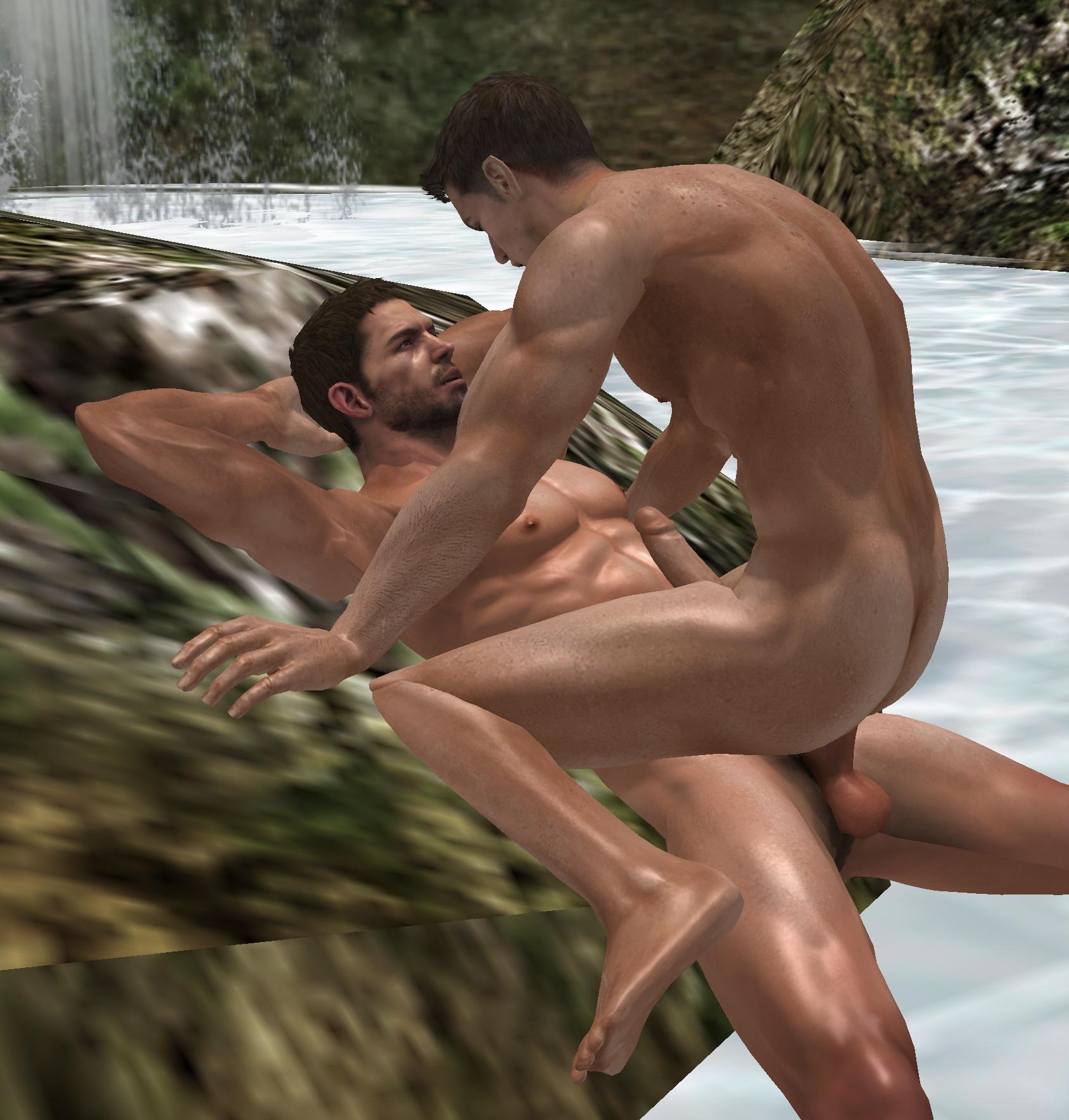 Порно Геи 3d