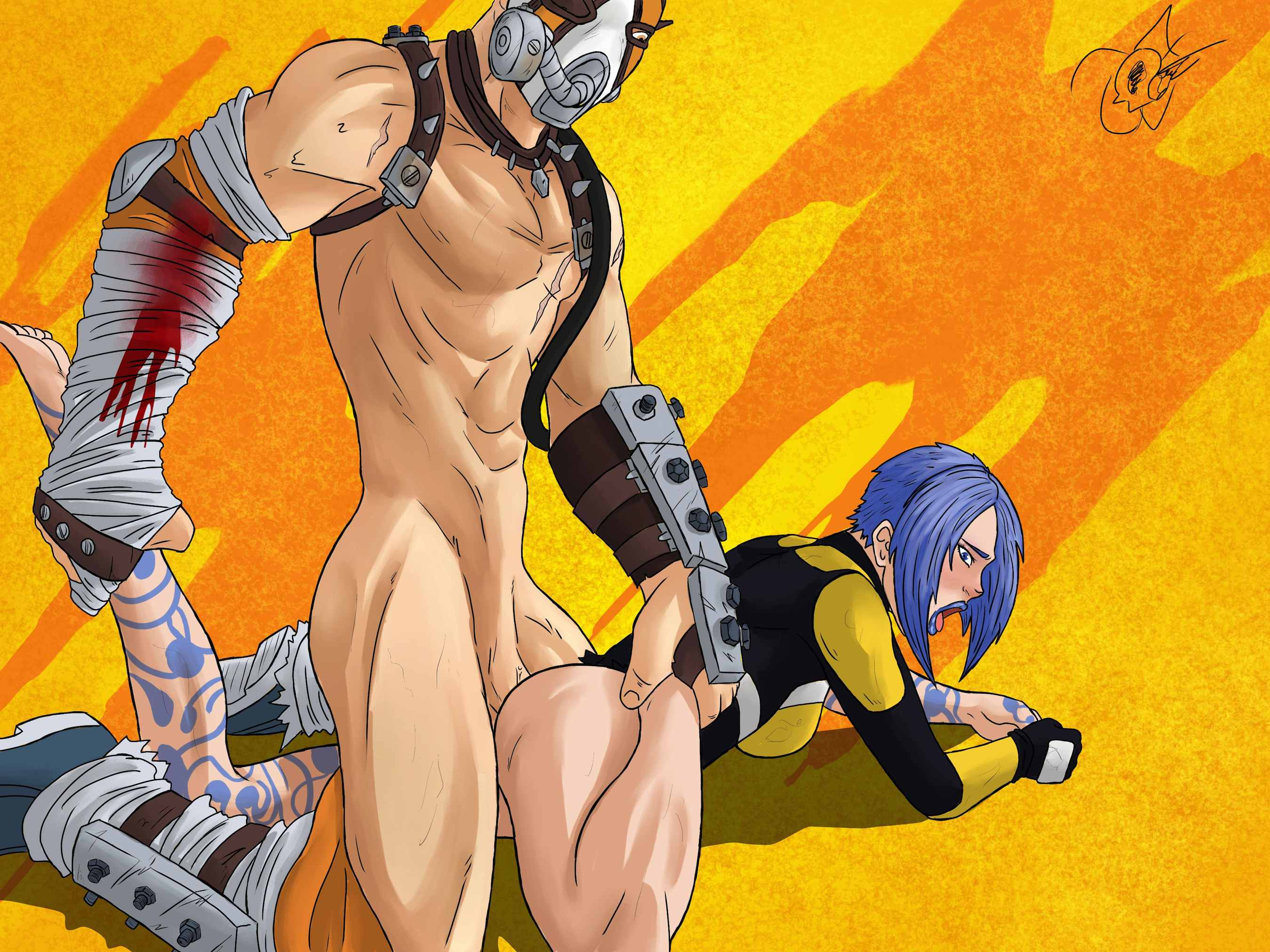Maya borderlands 2 sexy stockings porn image