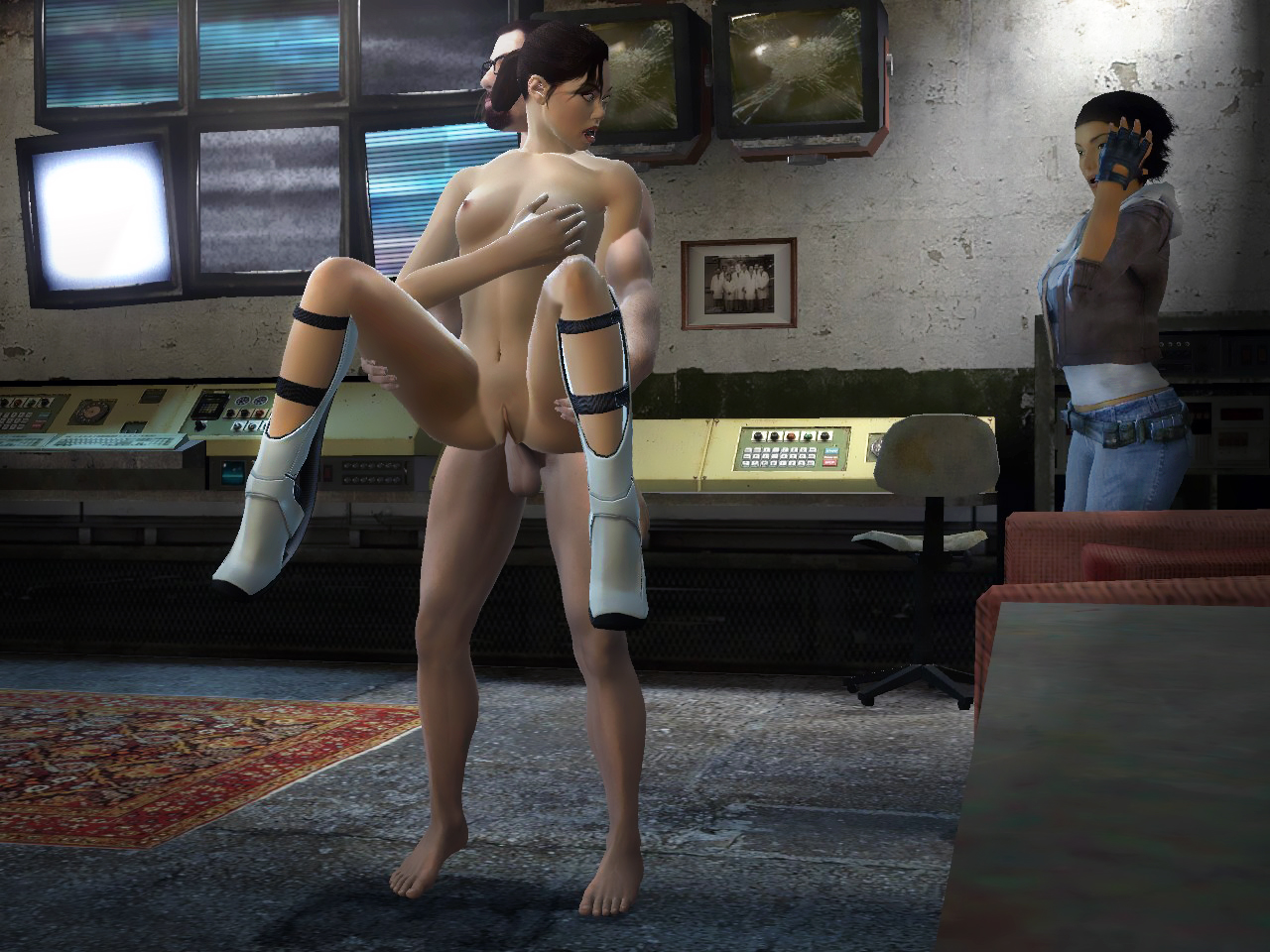 Alex from half life sex porn pictures