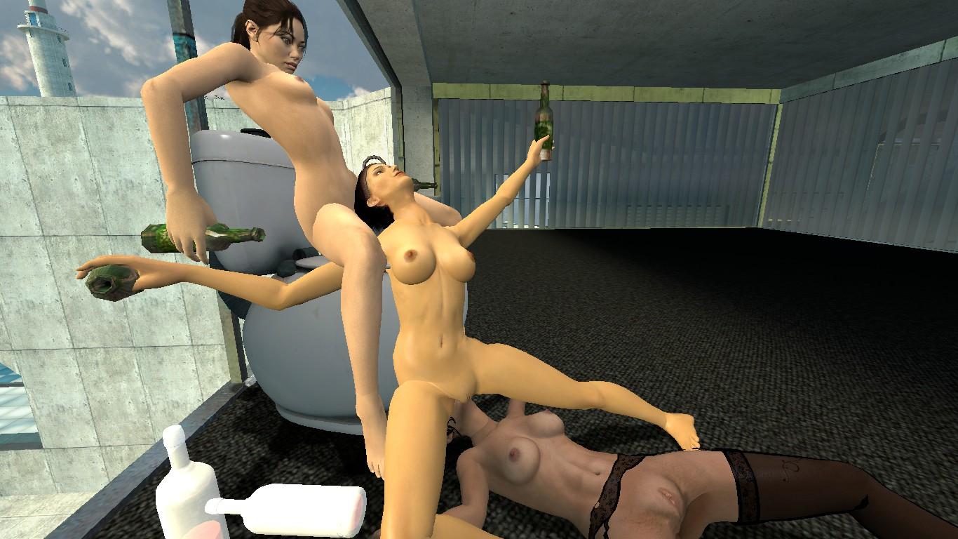 Порно в garrys mod