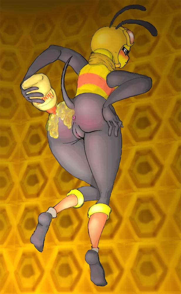 работала сексуальная пчелка трахнулась содержание рекламных