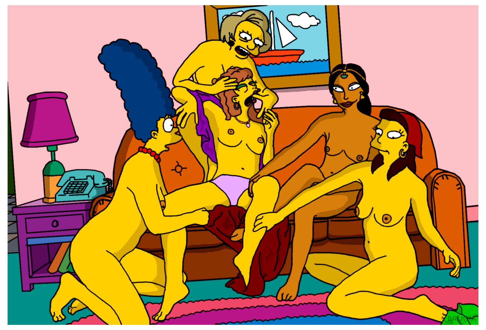 Simpsons the xxx parody