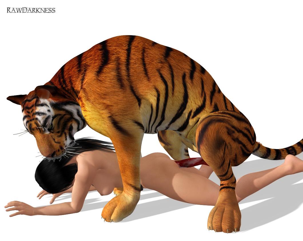 Онлайн порно с тигром