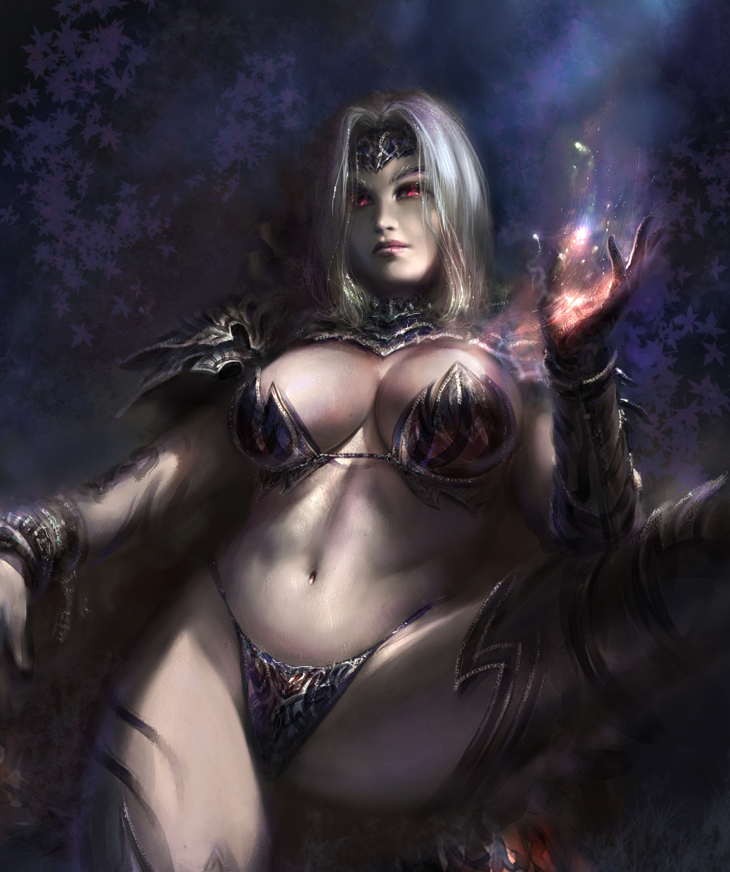 Dark fantasy artwork nude hentai download