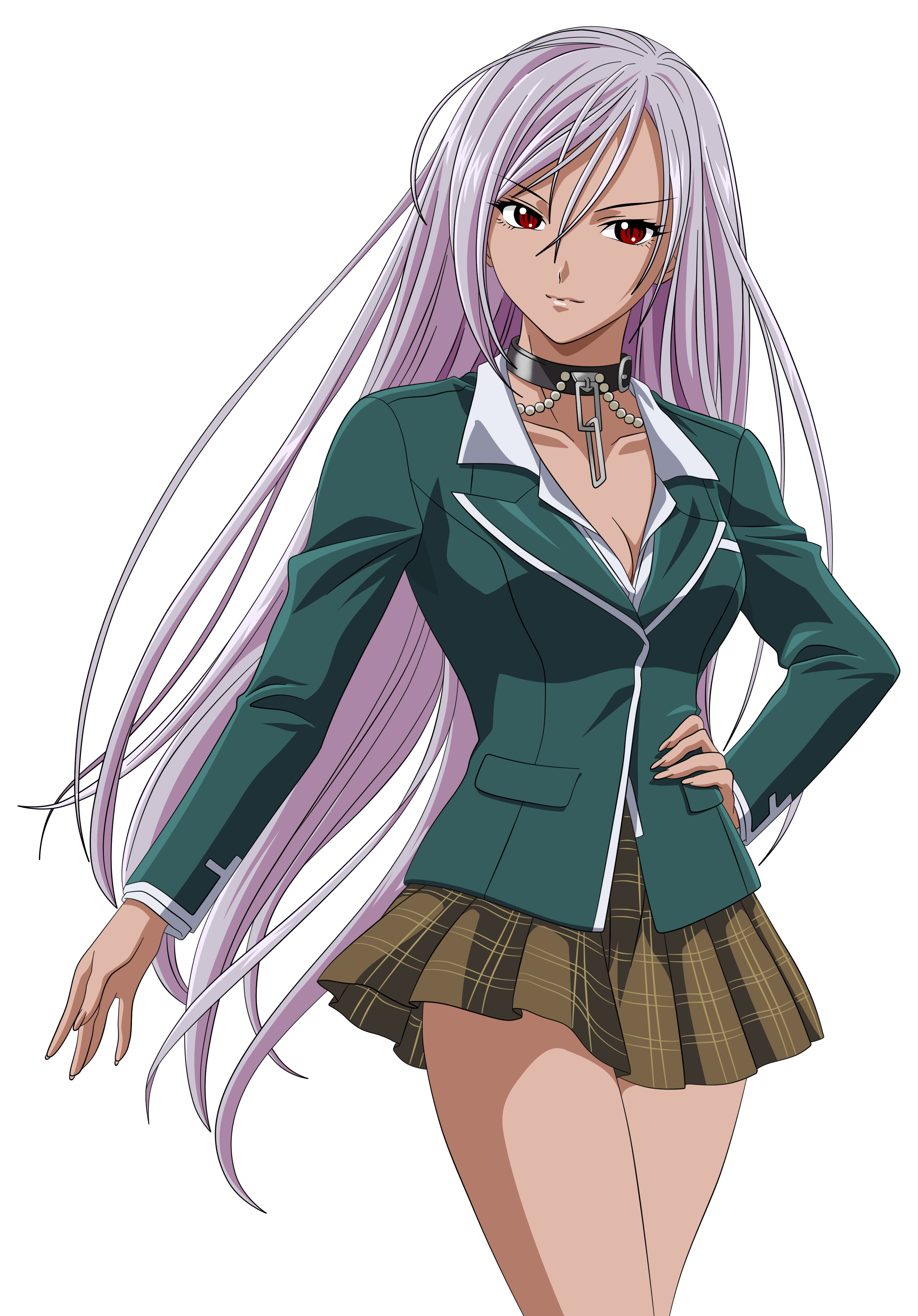 Images of moka from rosario vampire getting  sexy galleries