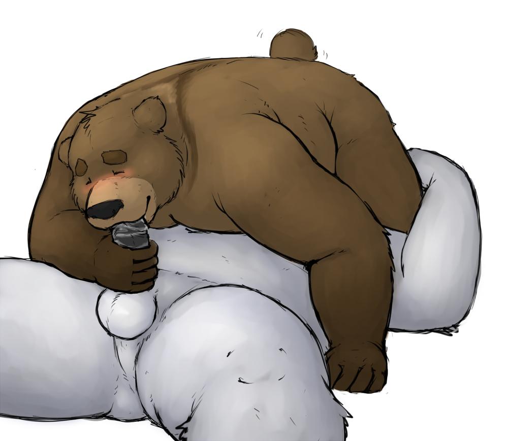с геями порно медведями