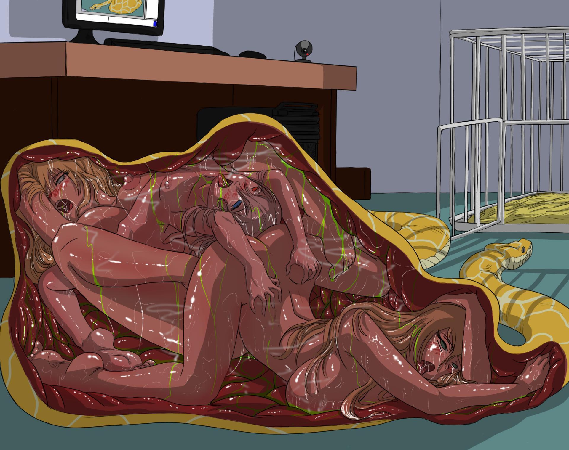 змеяа секс