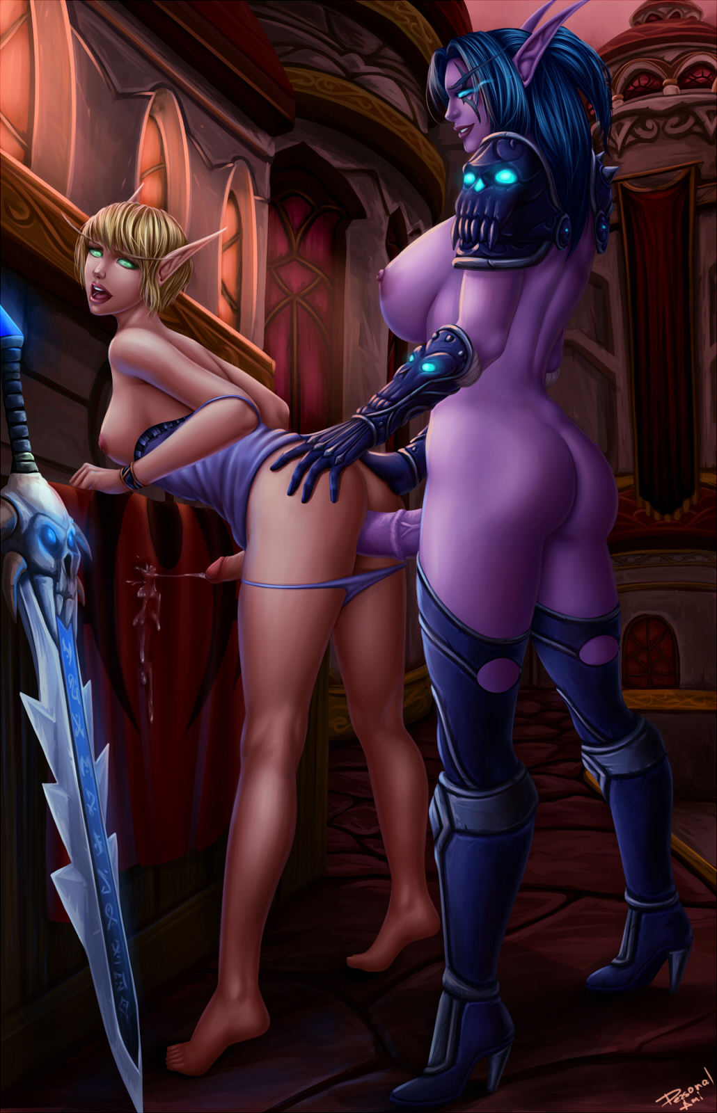 Night elf porn videos adult picture