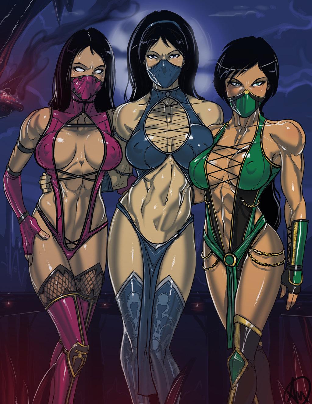 Mortal kombat naked kitana skin erotica toons