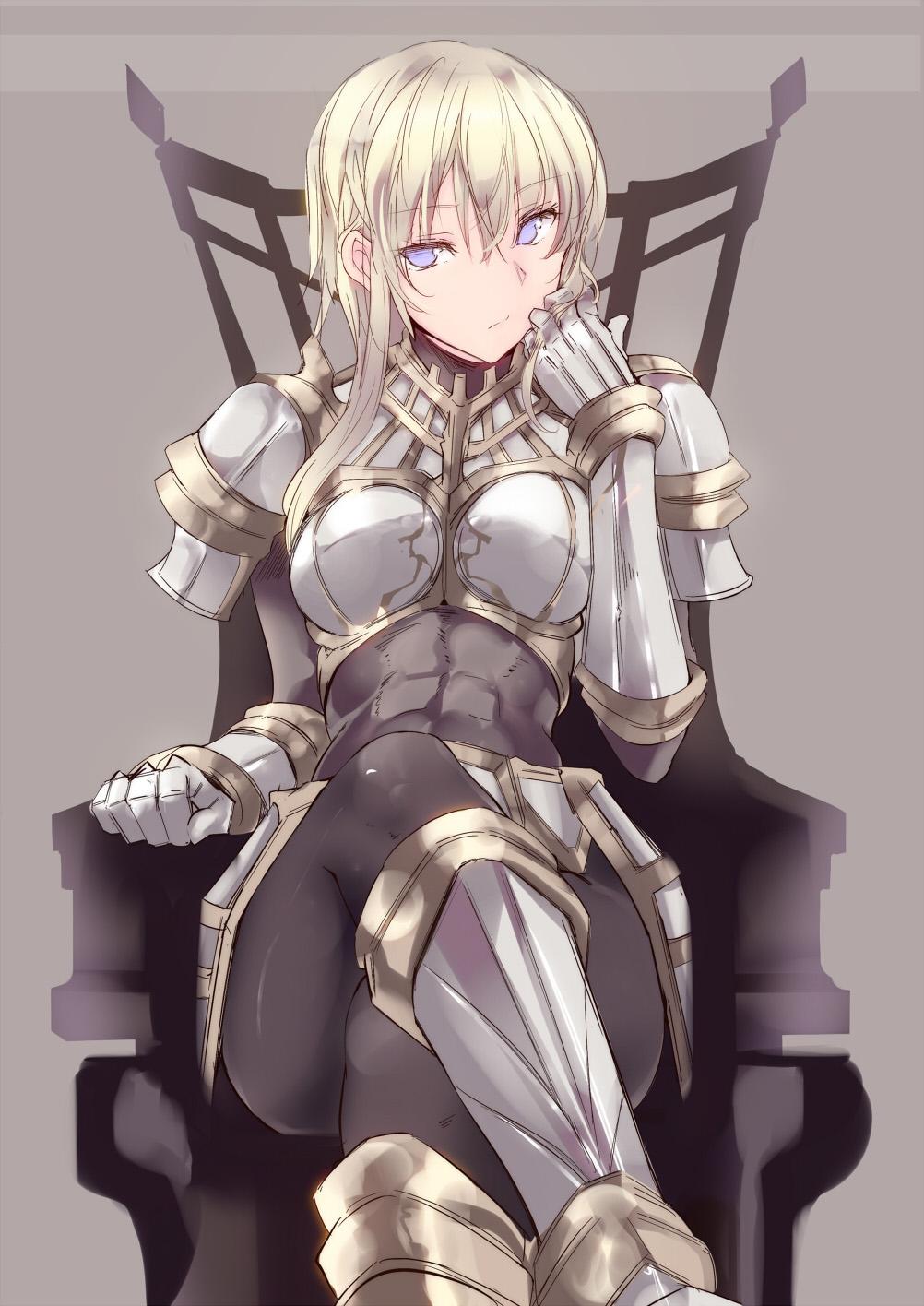 Girl knight anime clips