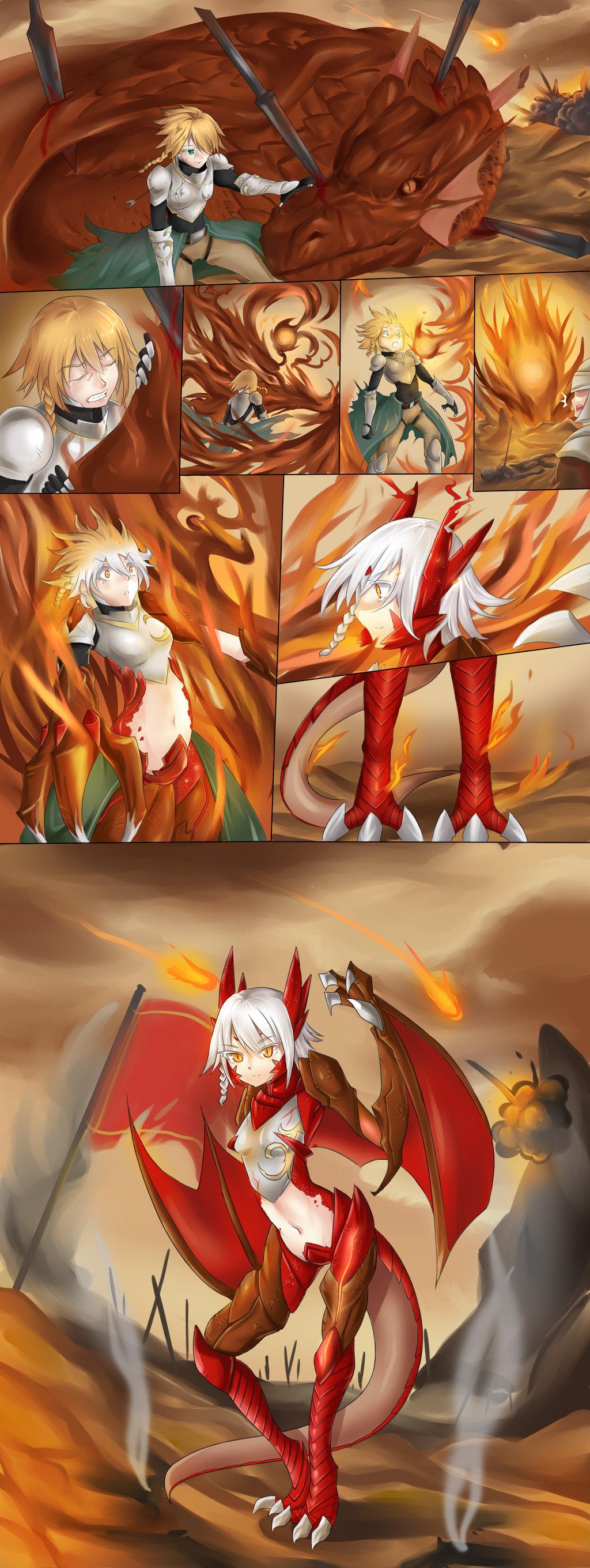 Dragon masterbating female nude video