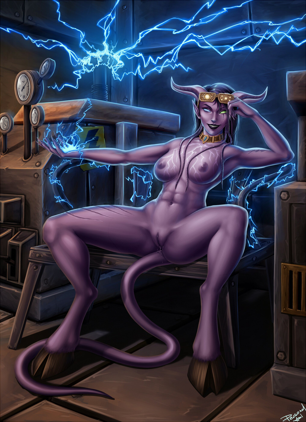 Draenei porn collection sex scene