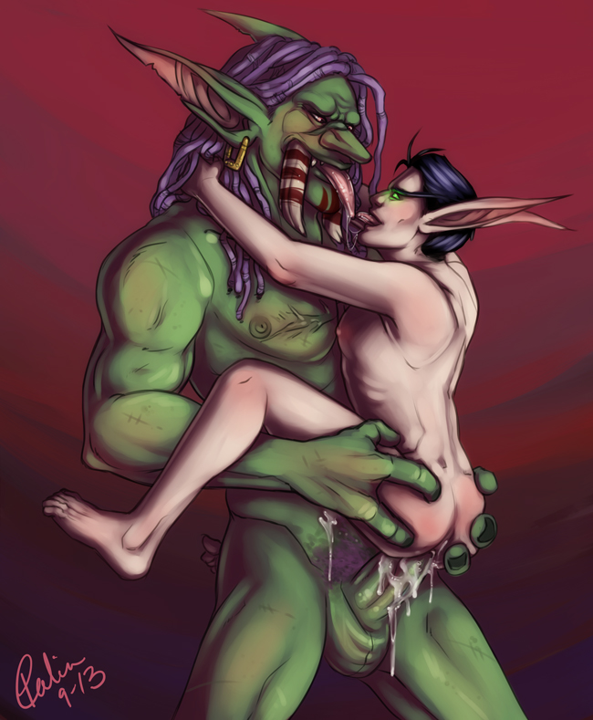 Troll and blood elf sex nude scenes