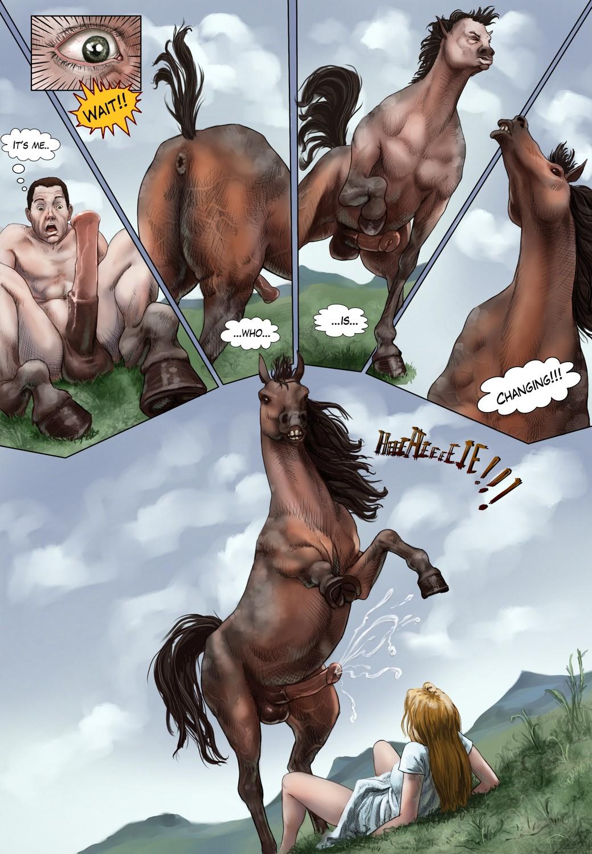 Смотреть порно horses