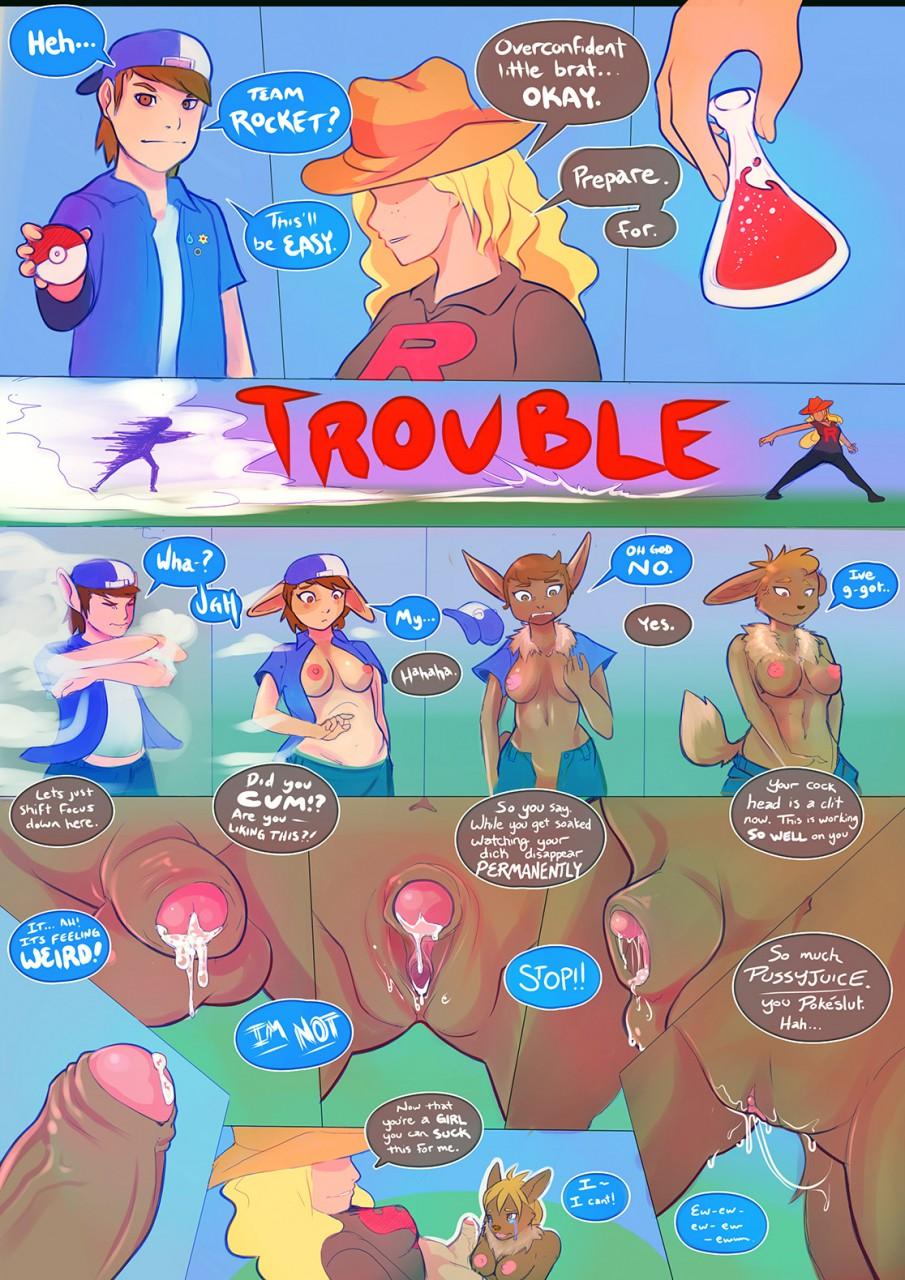 Cartoon porn pokemon transformation nude picture