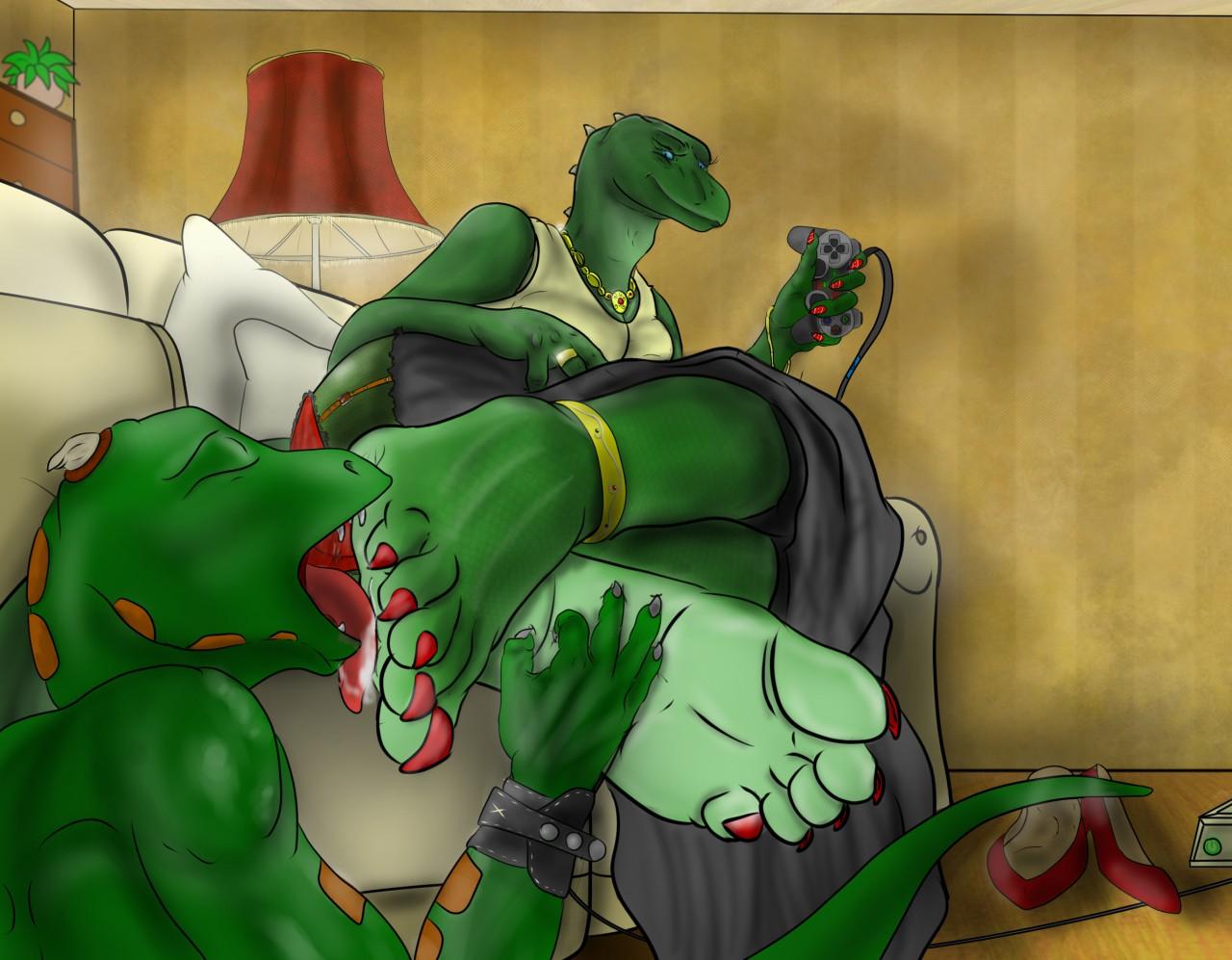 Lizard lick n ctures — 3