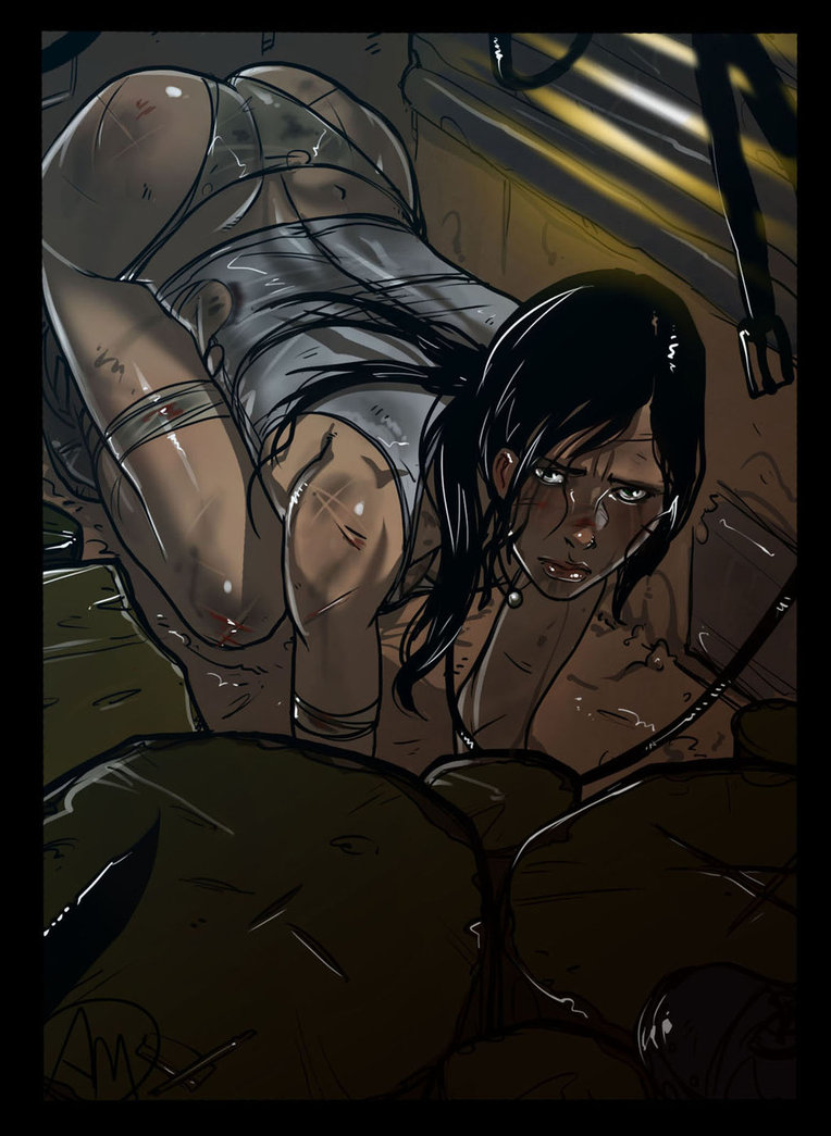 Tomb raider hentai pic tentacle hentia girl