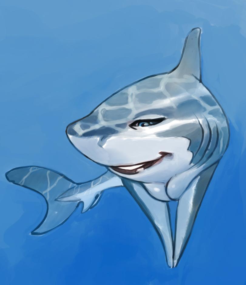 Годовщиной, акула картинка анимация
