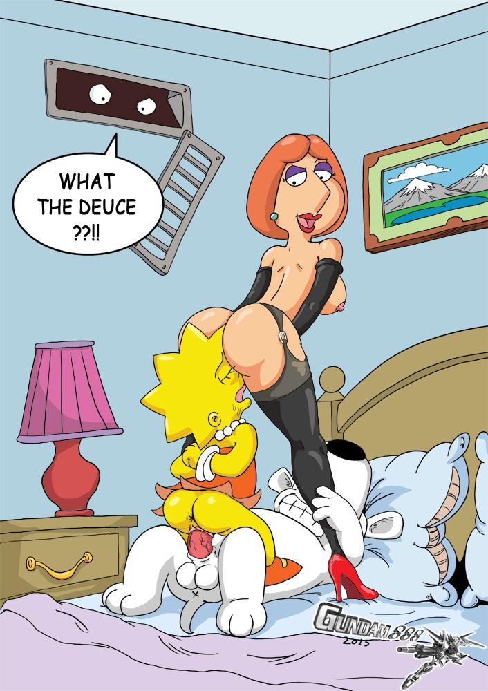 Порно картинки из симпсонов и гриффинов