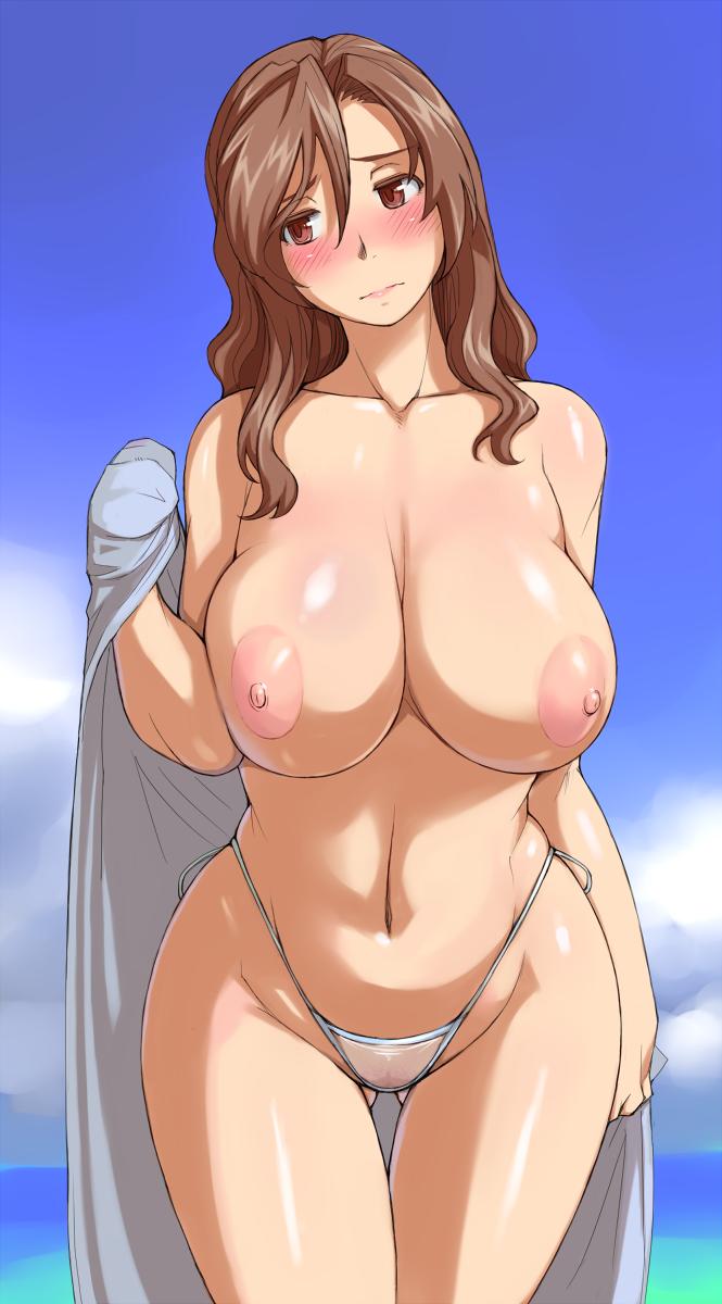 Nude public cmnf