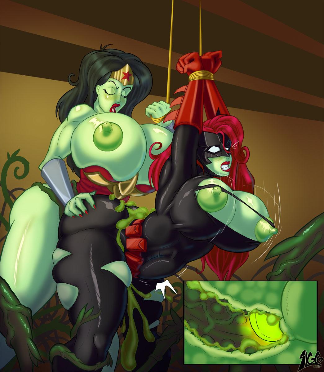 Starfire slimy green alien sex xxx pics