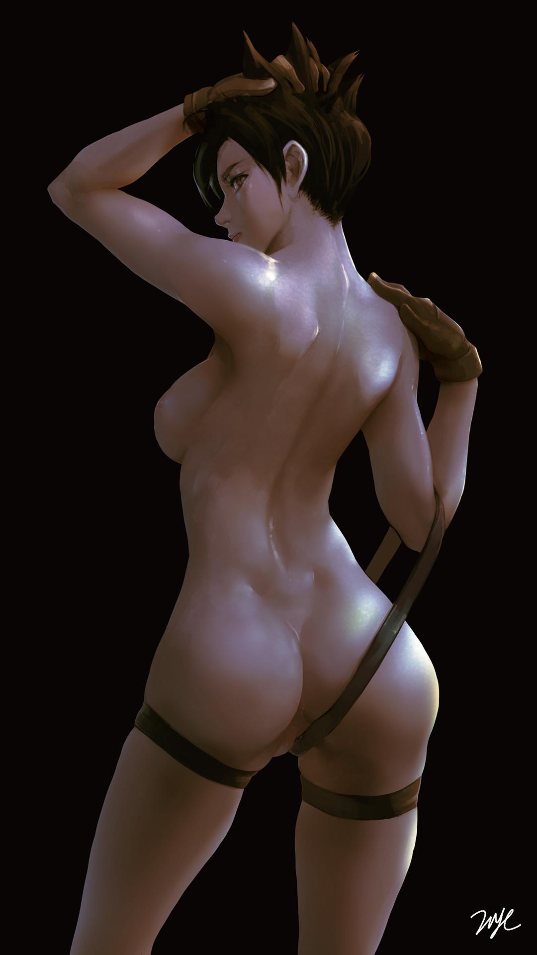 overwatch tracer nude