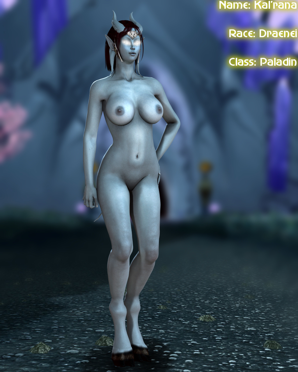 Nude night elfs and dranei erotic photos