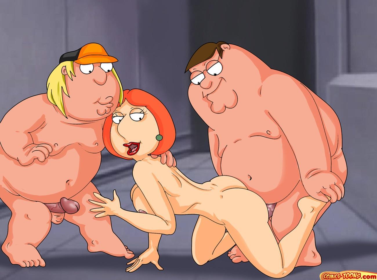 Порно мультфільм гріфінів