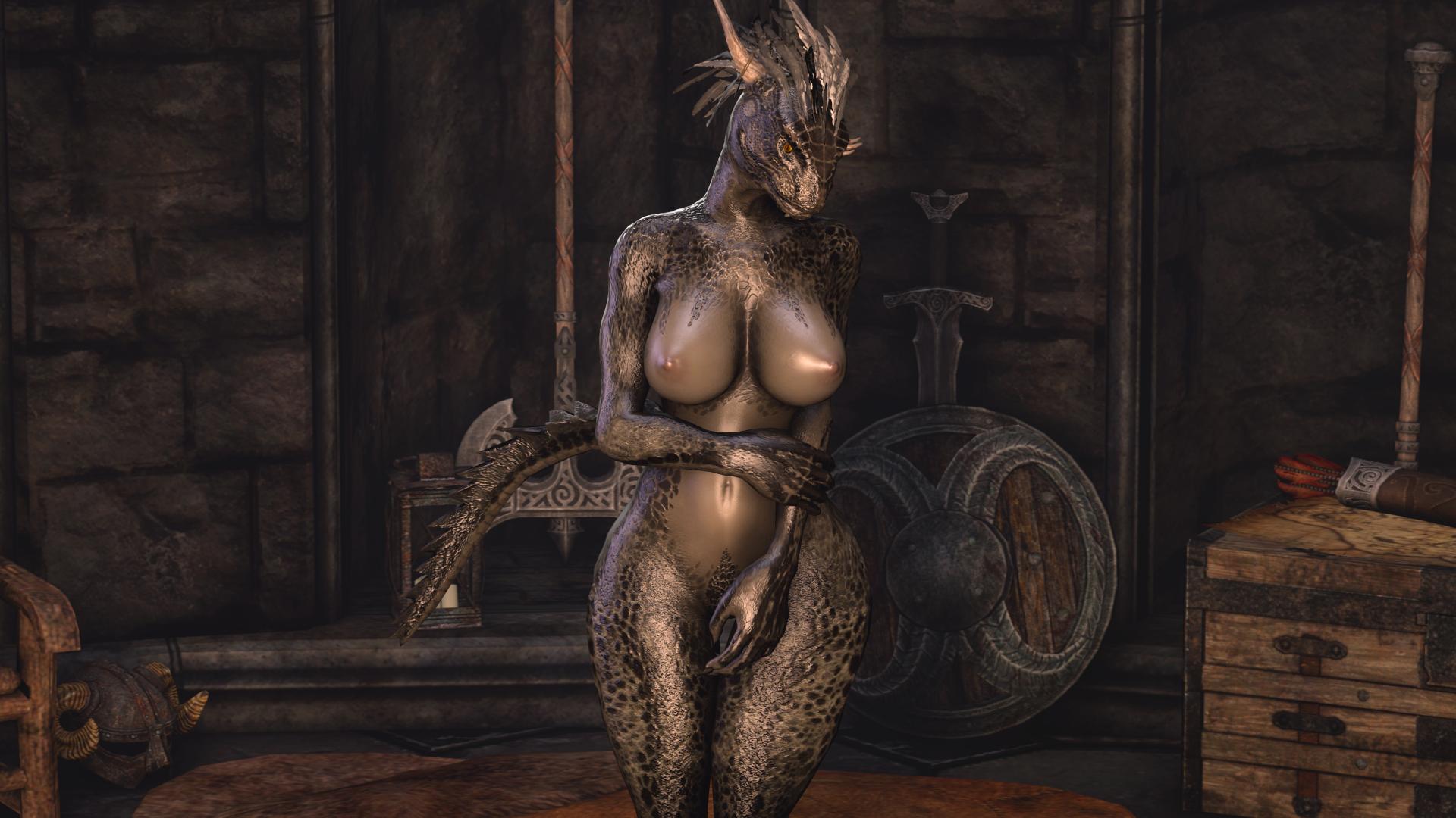 Argonian nude