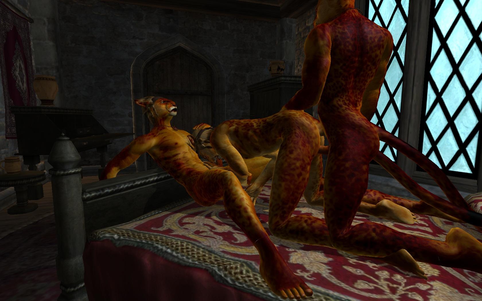 Morrowind porn mods erotic pics