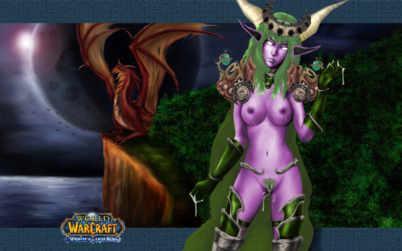 Nude sorceress warcraft sex pic