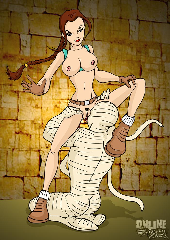 Онлайн порно мумия