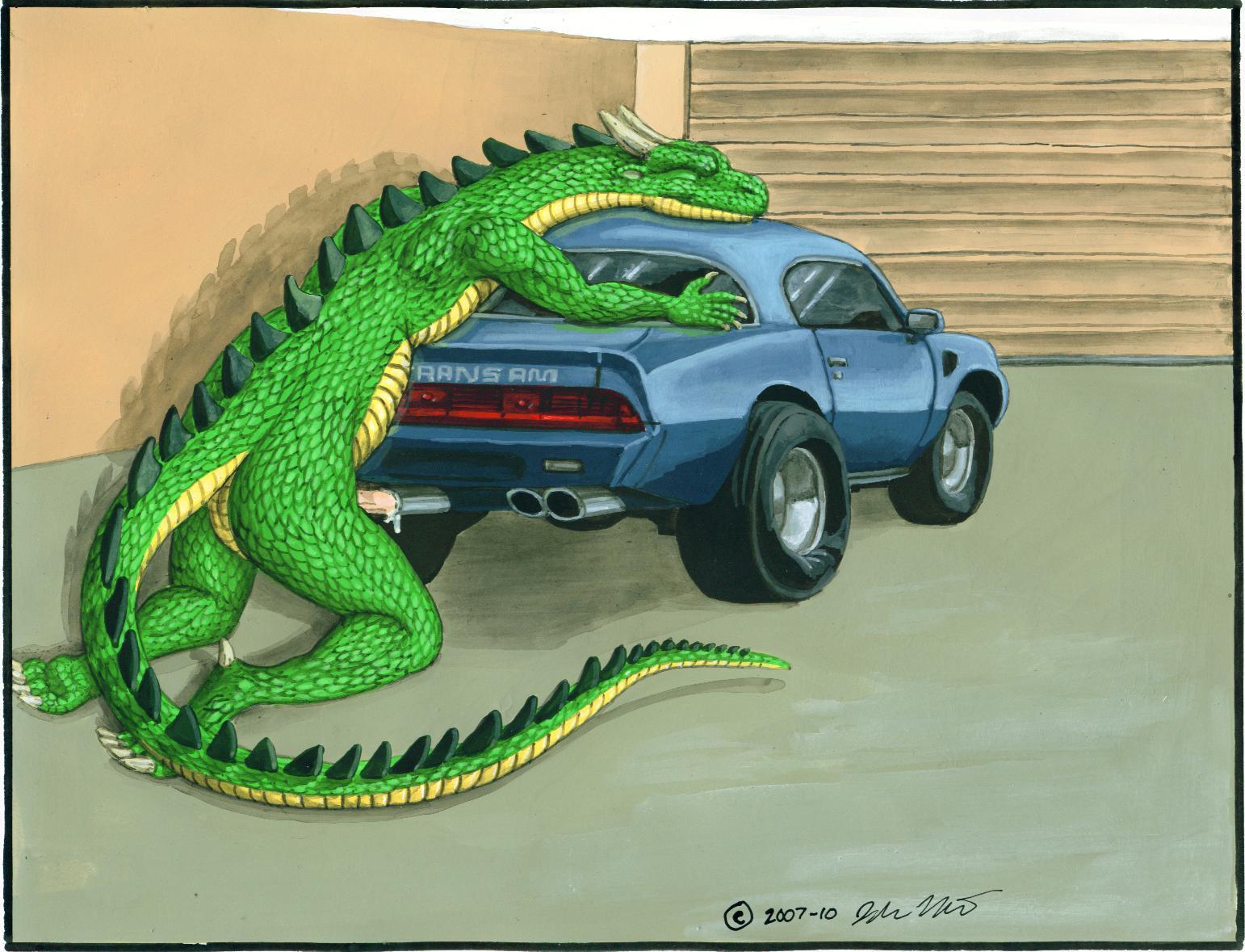 Dragon fucking car gifs
