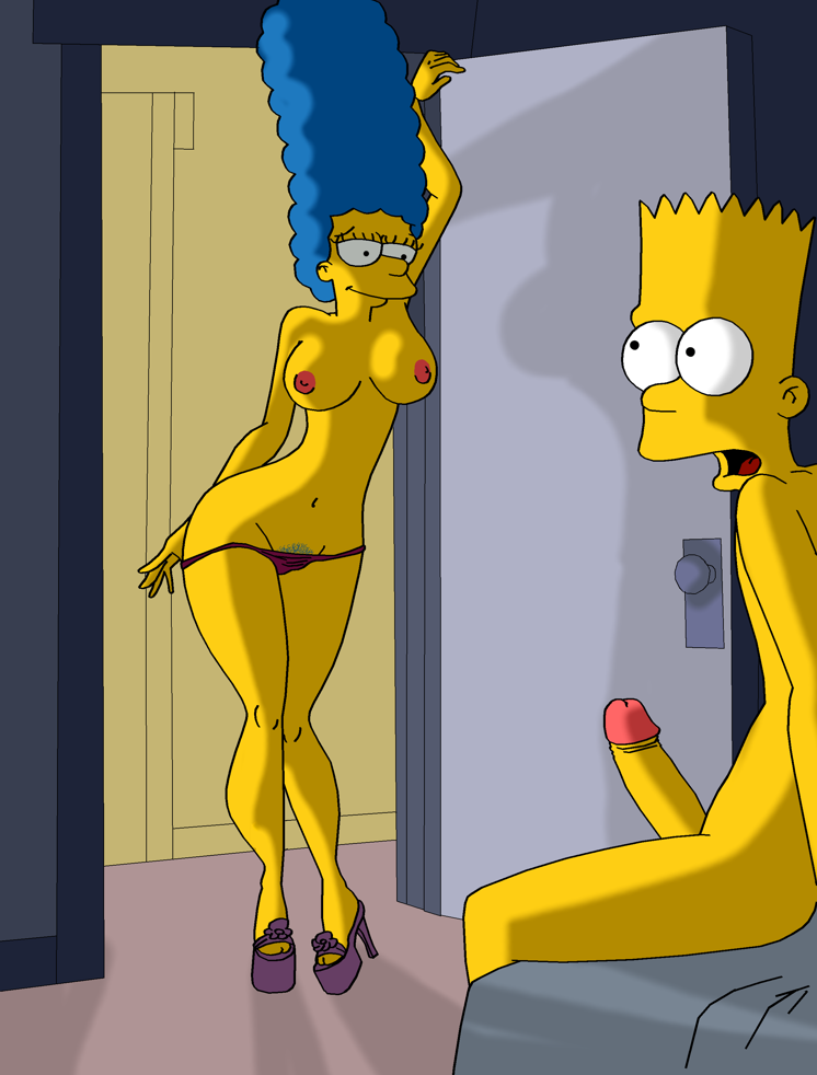 марж симпсон порно фото