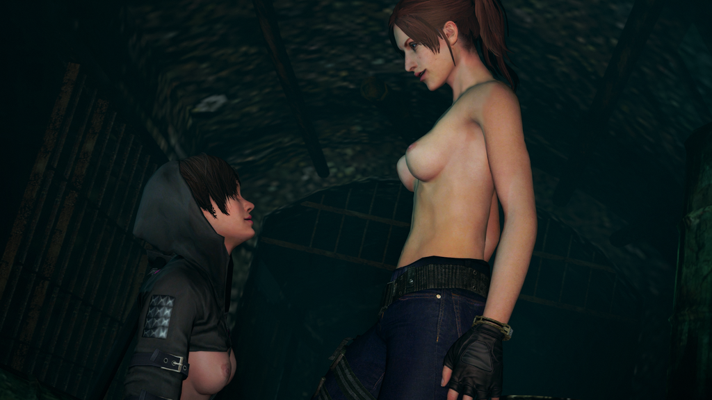 Resident evil claire redfield naked