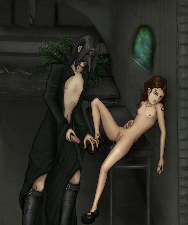 Harry potter snape sex