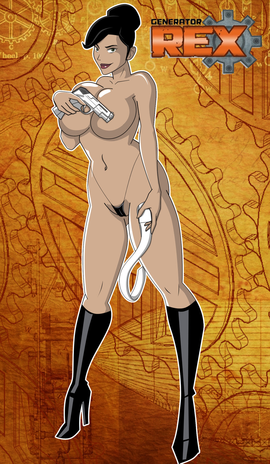Hentai rex naked vids